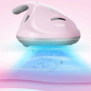 Máy hút bụi diệt khuẩn UV giường nệm Deerma CM300 Pink
