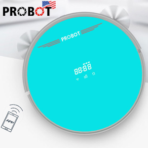 Máy hút bụi lau nhà Probot Nelson 980 Wifi, màu xanh ngọc bích