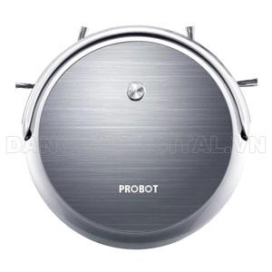 Probot nelson A3S wifi, Robot hút bụi lau nhà điều khiển qua điện thoại màu Xám ghi