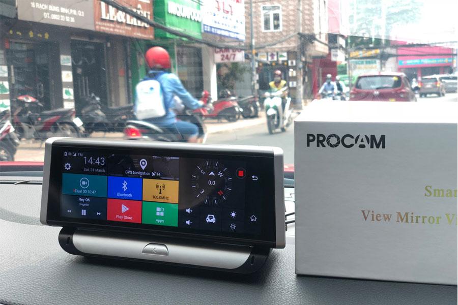 Camera hành trình Procam T98 4G Pro mini 8 inch 2018