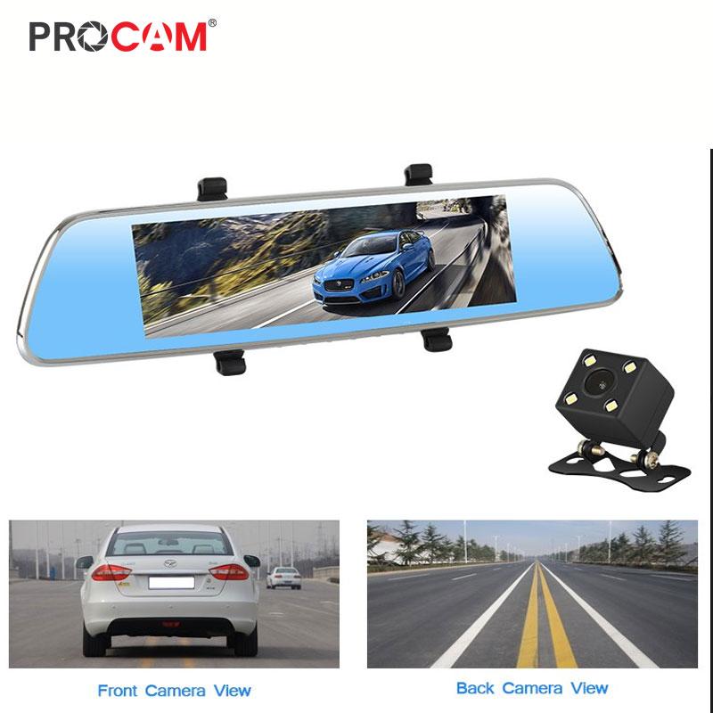 Camera hành trình Procam T98 Plus Mirror 4G, Android 5.0, Camera kép