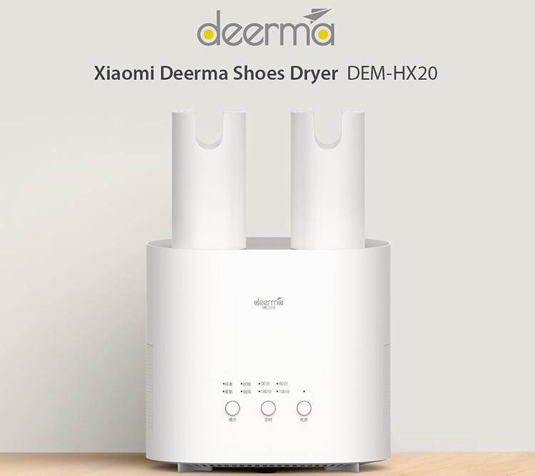 Deerma Dem- HX20, Máy sấy khử mùi giày