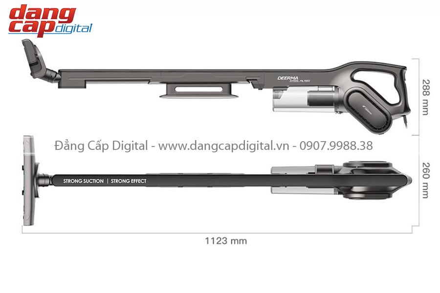 Deerma DX700S, Máy hút bụi không dây cầm tay