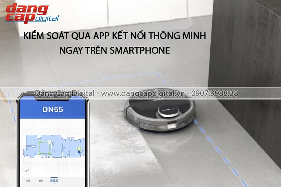 Ecovacs Deebot DN55, Robot hút bụi lau nhà tự động