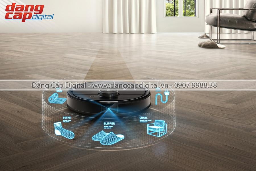 Ecovacs Deebot T8 AIVI, Robot hut bụi lau nhà tự động