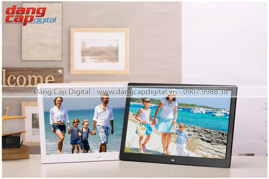 Khung ảnh số Hismart 15.6 Inch, Full HD, Android, Wifi
