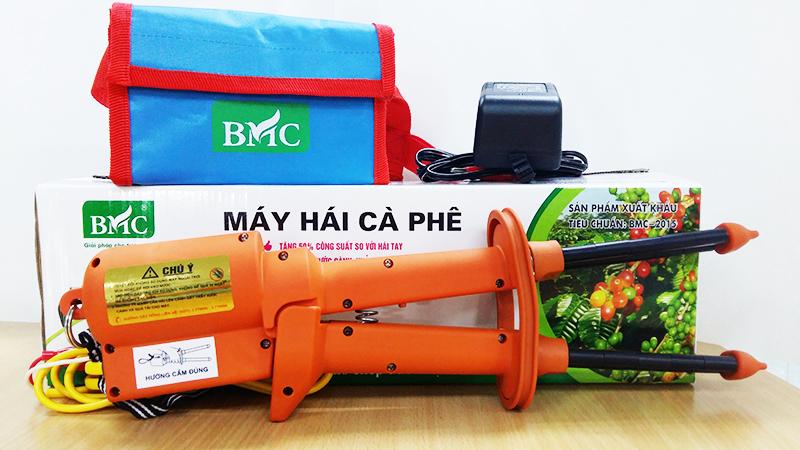 Máy hái hạt cà phê BMC