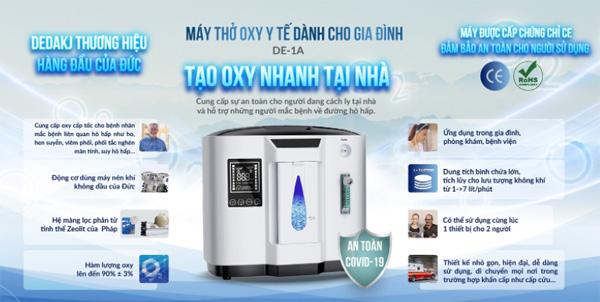 Máy tạo oxy Dedakj DE-1A (1-7 lít/phút)