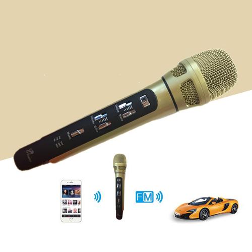 Micro FM cho xe hơi Tuxun K9 phiên bản tiếng anh Quốc tê