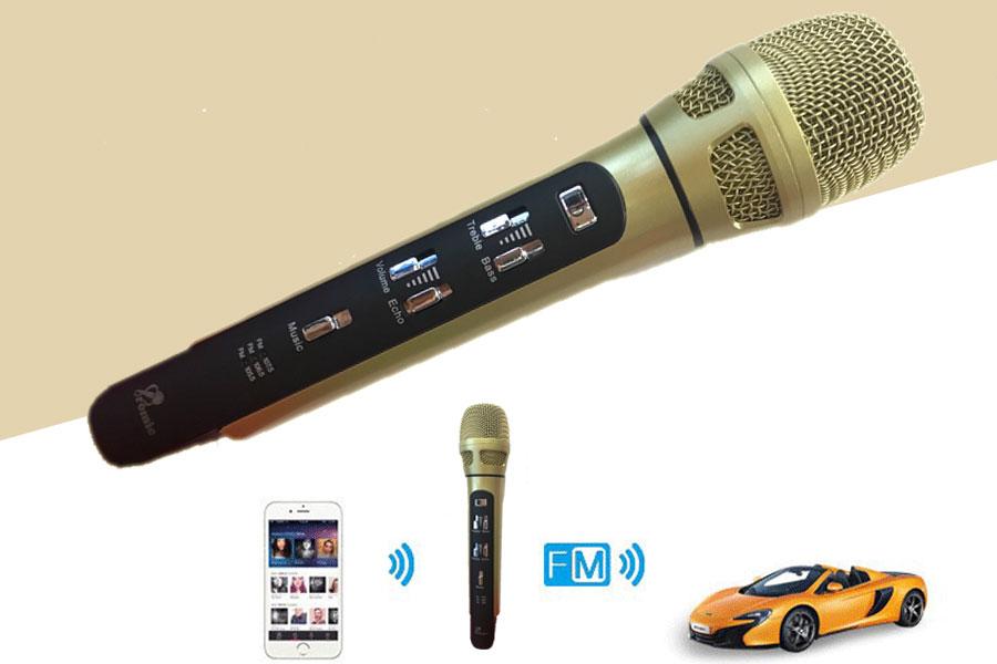 Micro FM xe hơi Promic TX K9
