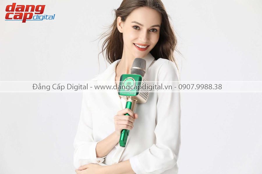 Micro Karaoke Tosing V1 âm thanh chuyên nghiệp 2019, 2 loa 10W, FM hát trên cả xe hơi