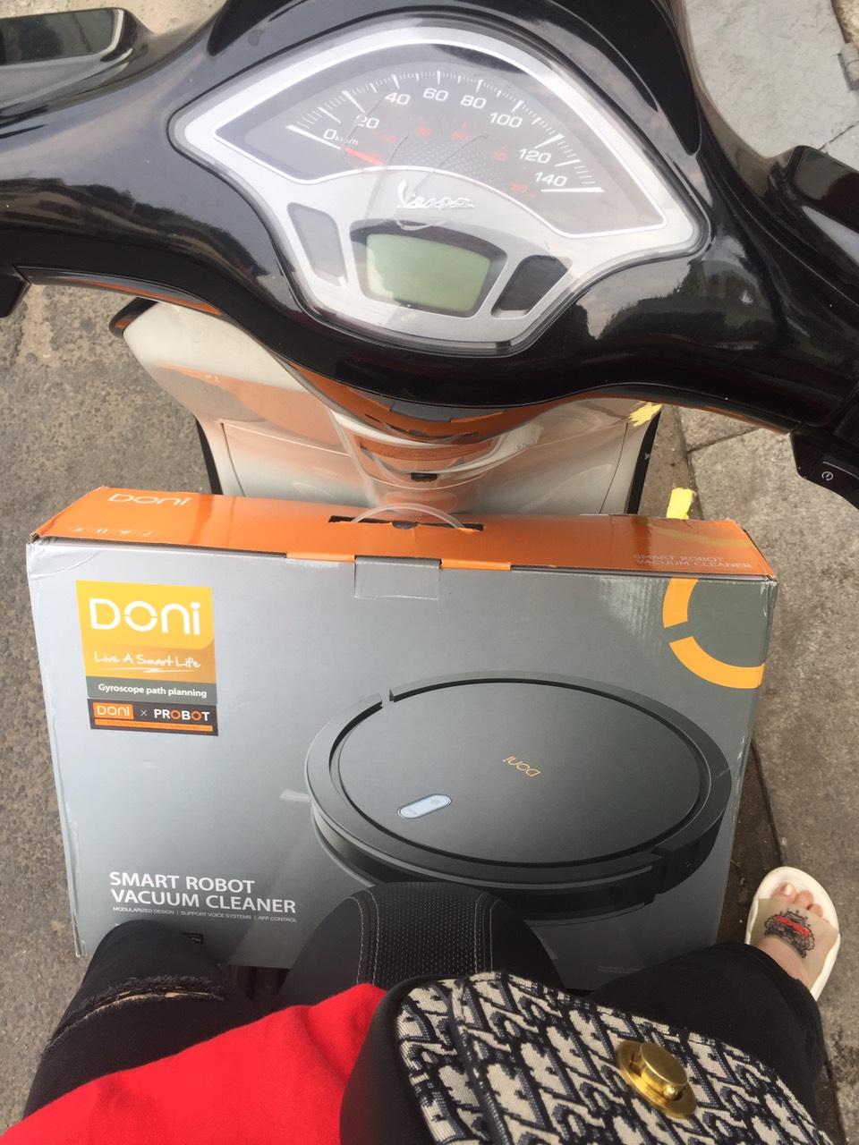 Probot Doni X 1400Pa, Robot hút bụi lau nhà cao cấp giá rẻ