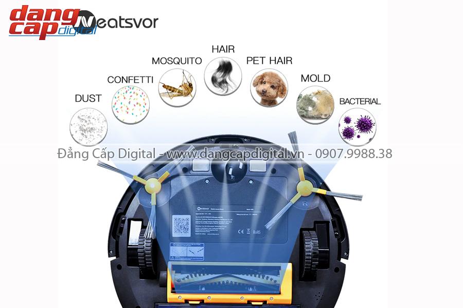 Probot Neatsvor X500, Máy hút bụi và lau nhà tự động Tesvor phiên bản 2020