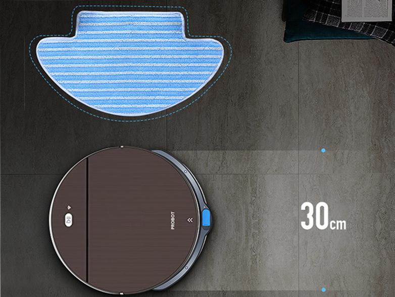 Probot Nelson A7 Hybrid, Robot hút bụi lau nhà tích hợp WiFi, Alexa, Động cơ turbo
