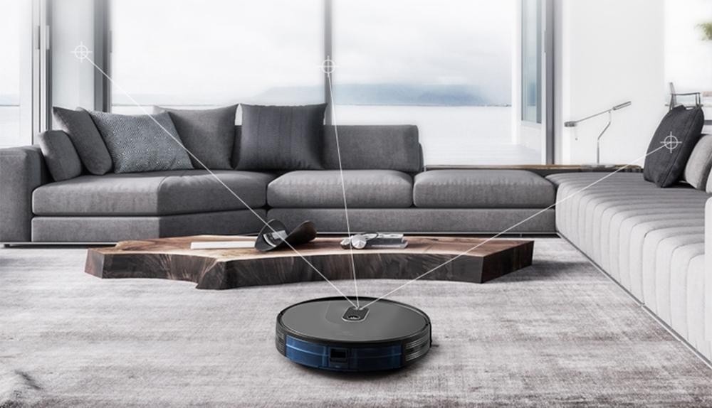 Probot Nelson A8, Robot hút bụi lau nhà WiFi, Alexa