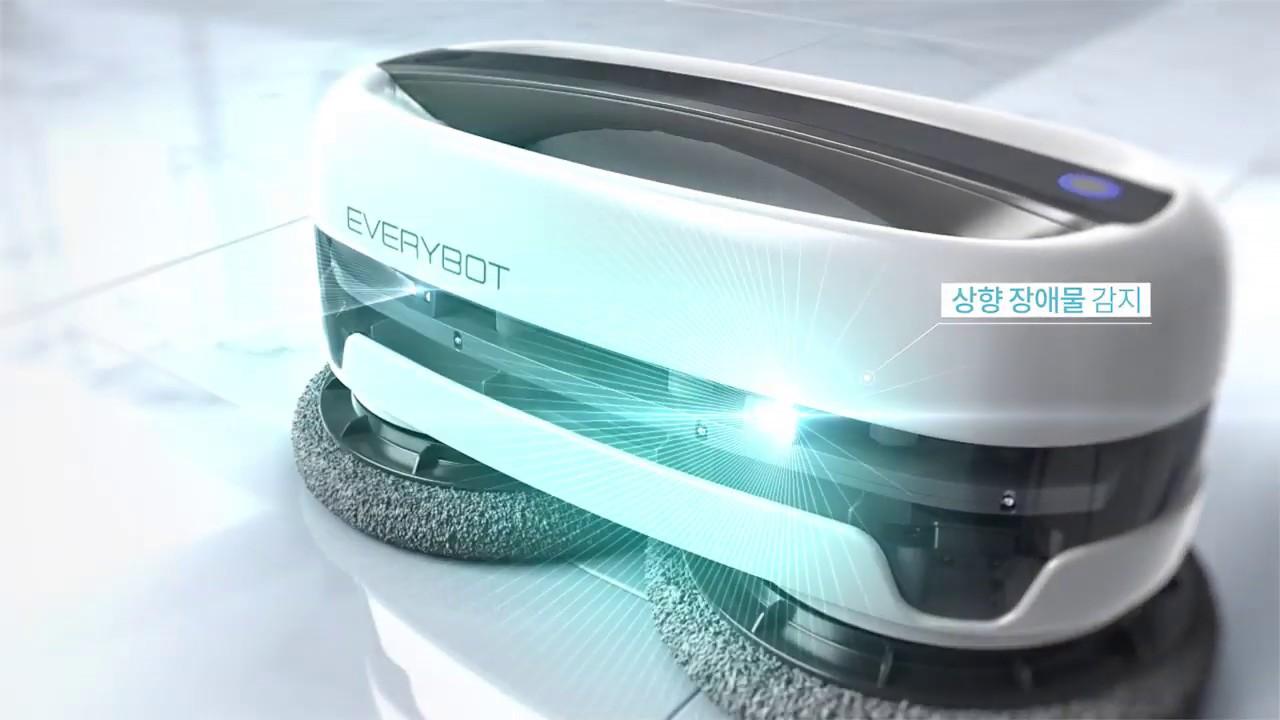 Robot chuyên lau nhà Everybot EDGE 2020