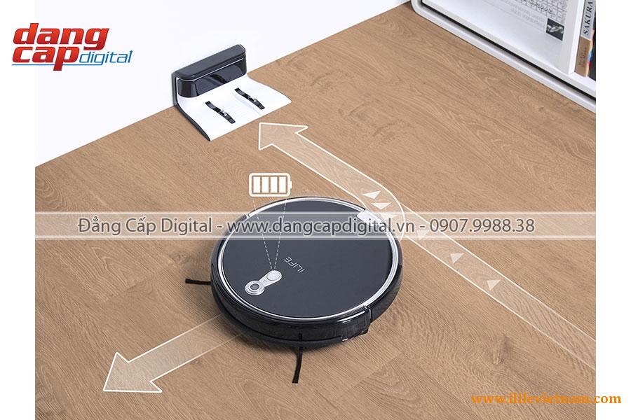 Robot hút bụi cao cấp iLife A8, định vị bằng Camera PanoView 360 4D, đồ họa CV-SLAM