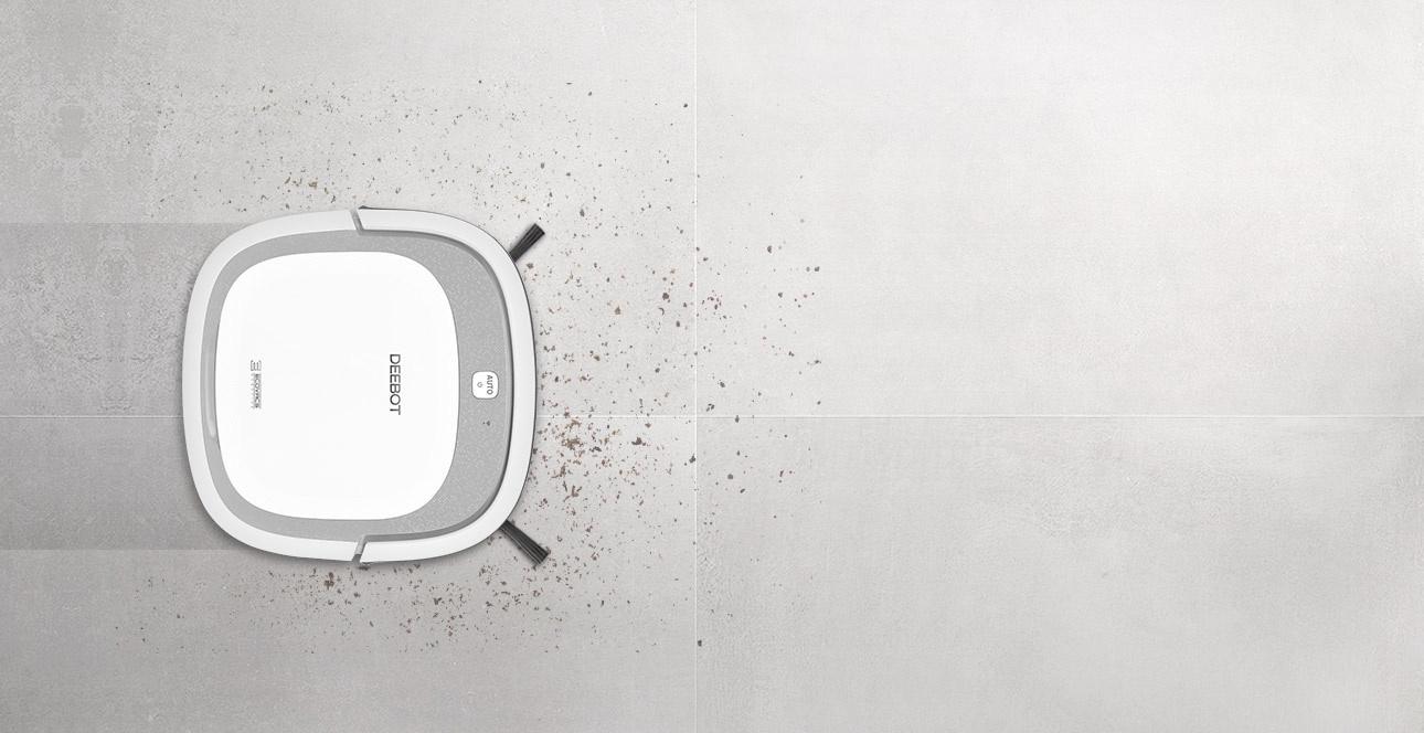 Robot hút bụi lau nhà Ecovacs D36C