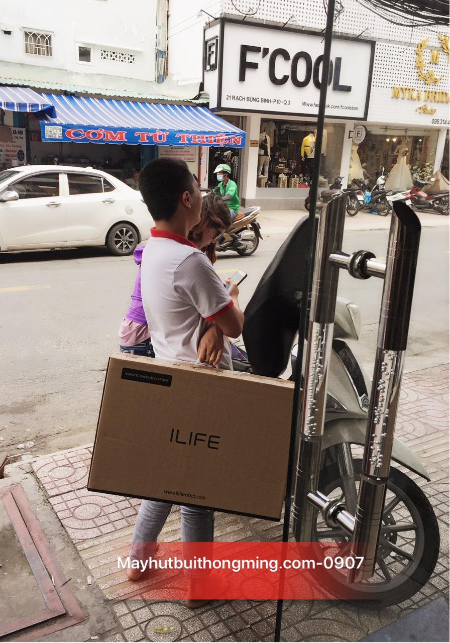 Robot hút bụi lau nhà iLife V8S, Phiên bản quốc tế 2018