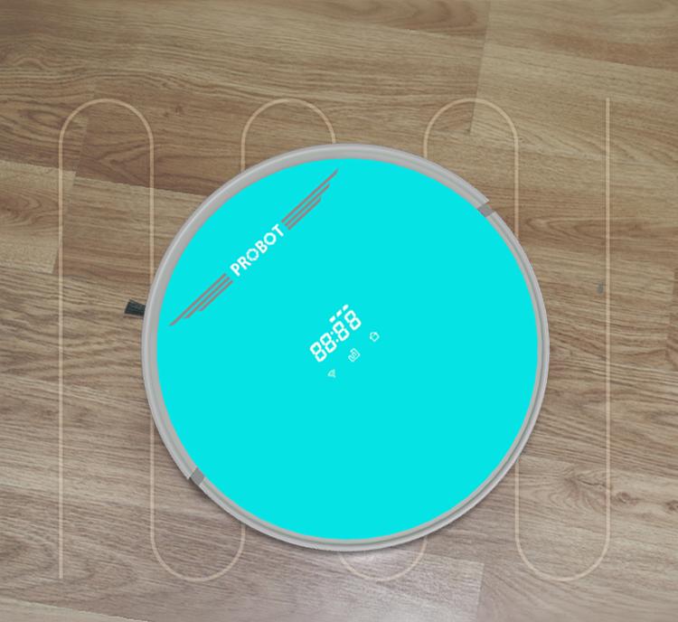 Robot hút bụi lau nhà Probot Nelson 980 Wifi, màu xanh ngọc