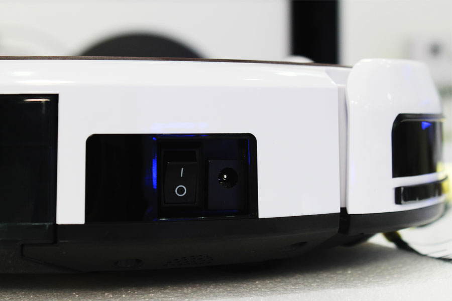 Robot hút bụi Probot Nelson A3S kiêm Camera IP màu Hồng