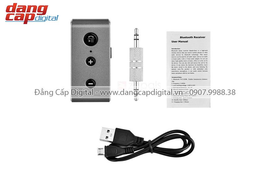 Thiết bị bluetooth receiver BT710 V4.2, kết nối cùng lúc 2 điện thoại