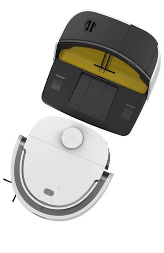 Vennibot N1 Max, Robot hút bụi lau nhà tự giặt khăn lau 2020