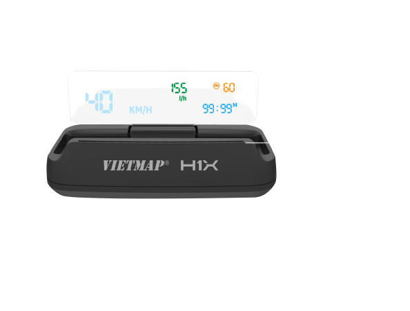 Vietmap H1X Hub, Màn hình hiển thị thông tin