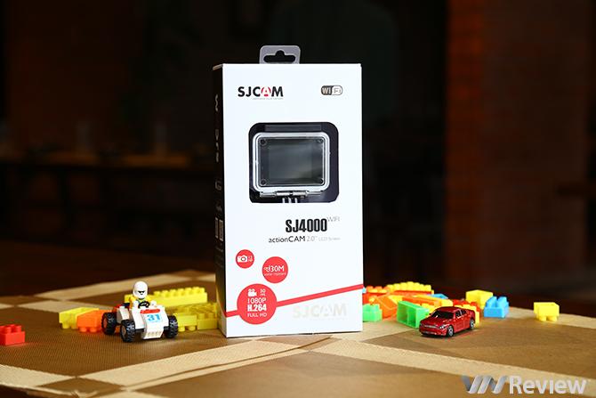 Đập Hộp và Hướng Dẫn Tất Tần Tật Từ A đến Z Camera Sjcam Sj4000 Wifi cùng Phụ Kiện