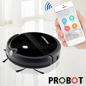 Probot Nelson A3S Robot hút bụi lau nhà thông minh nhiều công nghệ nhất: Camera HD, Wifi