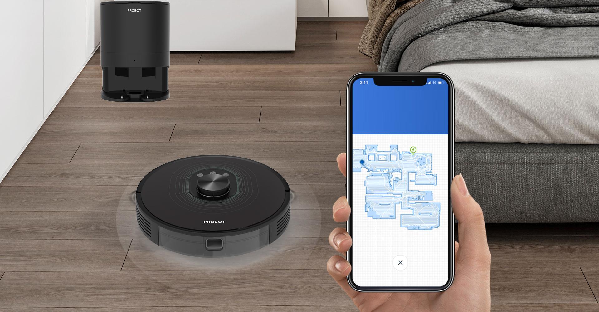 ProbotHome, ứng dụng giúp người dùng tiếp cận tốt với công nghệ trong việc sử dụng robot dọn nhà 4.0