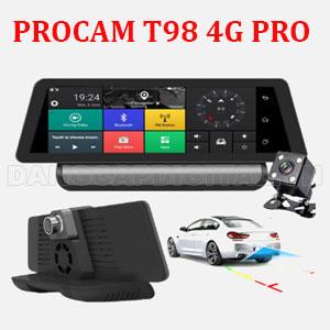 Camera hành trình Procam T98 4G Pro, 10inch 2018