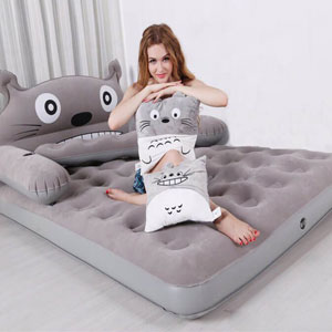 Giường hơi INTEX hình thú bông