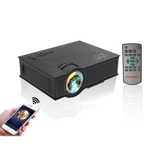 Máy chiếu WIFI UNIC UC46, chuẩn HD, 1200 lumens