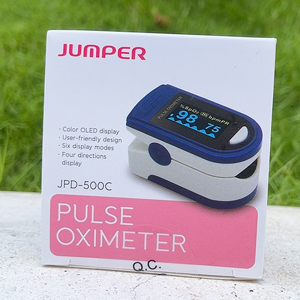 Máy đo nồng độ Oxy trong máu Spo2 Jumper 500C OLED