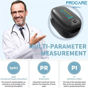 Máy đo nồng độ Oxy trong máu Procare OLED 901