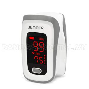 Máy đo nồng độ oxy trong máu SpO2 và nhịp tim Jumper Medical JPD-500E