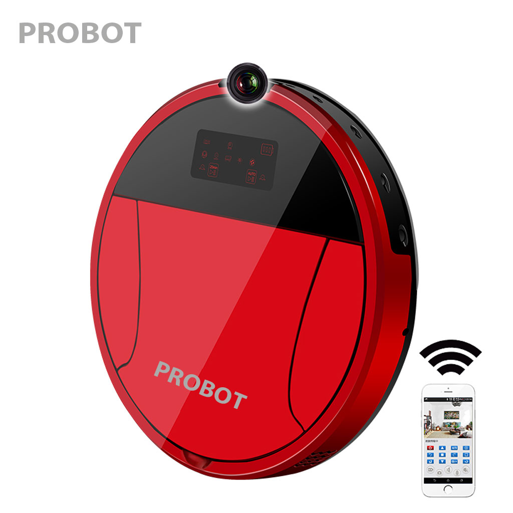 Máy hút bụi thông minh kiêm Camera IP Probot Pro 360
