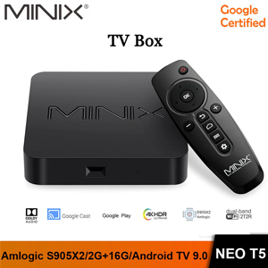 MINIX NEO T5 4K Ultra HD Android 9.0 Dolby