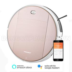 Probot Nelson A5 WiFi, Robot hút bụi lau nhà điều khiển qua điện thoại, Alexa, Google