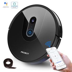 Probot Nelson A8, Robot hút bụi lau nhà AI PanoView WiFi, Alexa