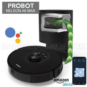 Probot Nelson A9 MAX, Robot hút bụi lau nhà tự đổ rác