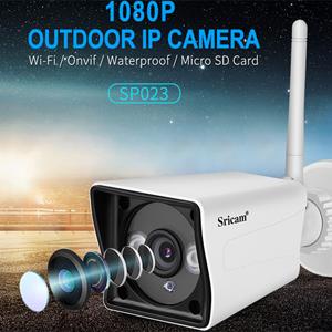 Sricam SP023 1080P – Camera IP WiFi quan sát ngoài trời, chống nước