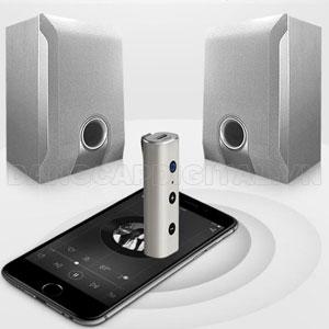Thiết bị bluetooth receiver BT810, kết nối cùng lúc 2 điện thoại . Bluetooth 4.2