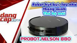 Probot Nelson 880: Robot hút bụi lau nhà thông minh, tự động với 1 nút nhấn