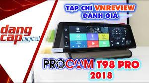 VnReview - Đánh giá camera hành trình Pro T98 4G 2018: camera